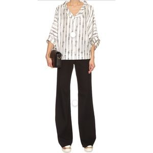 Max Mara White Gente Top Sz.2-OUT OF STOCK